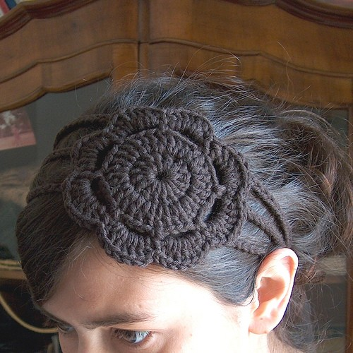 Headband with Flower