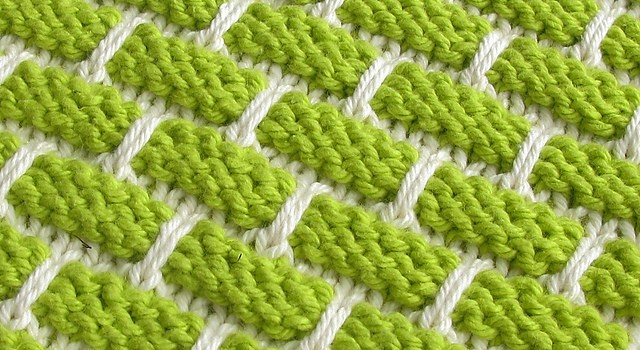 Knitted Dishcloth Patterns For Variegated Yarn : [Free Pattern] This Ballband Dishcloth Is Beautiful Worked In Solids And Vari...