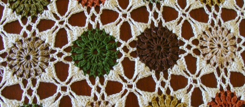 Free Pattern This Stunning Table Cloth Is Truly A Work Of Art