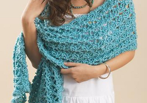 Pattern] The Perfect Wrap For Cool Summer Evenings - Knit And Crochet ...