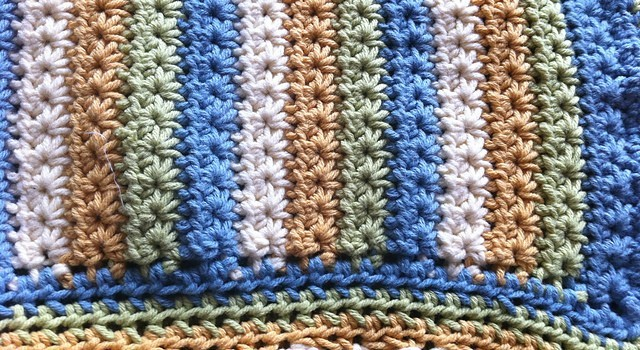 Free Pattern Make A Warm And Snugly Star Stitch Baby Blanket Knit