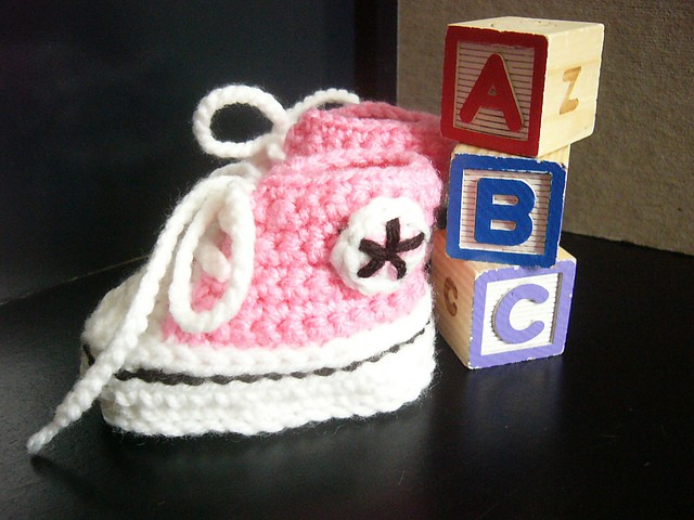 [Free Pattern] These Are The Best Looking Crochet Baby-Chucks I've Seen Yet!