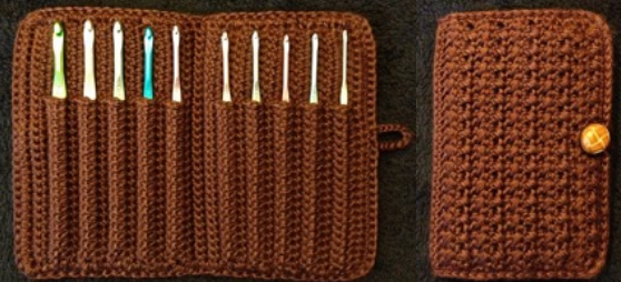 Free Pattern This Aluminum Crochet Hook Case Is Pure Genius Knit