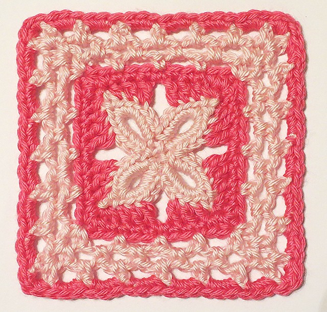 Free Pattern This Soft And Delicate Forever Lace Block
