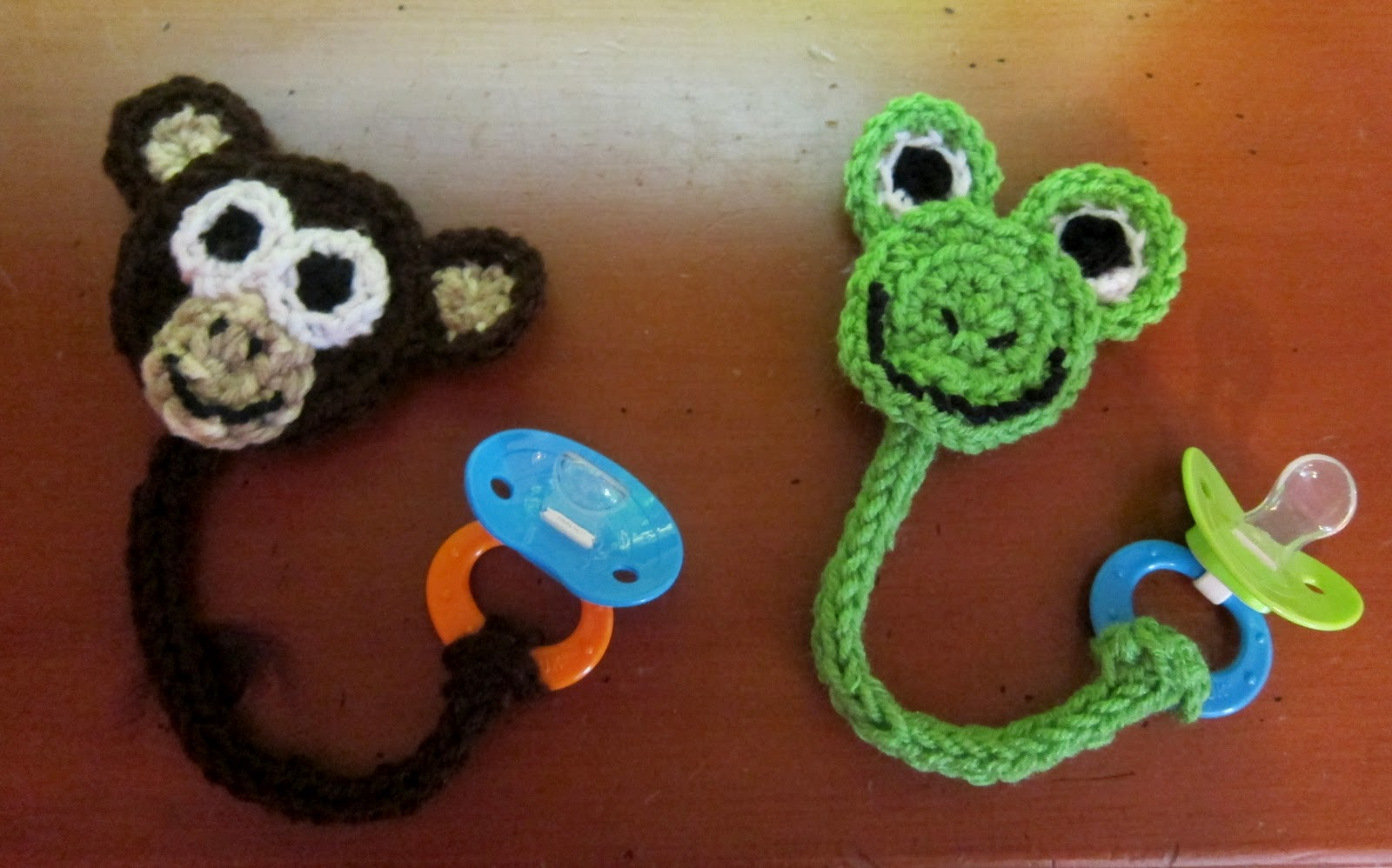 Free Pattern This Technique Used To Make The Monkey And The Frog Is