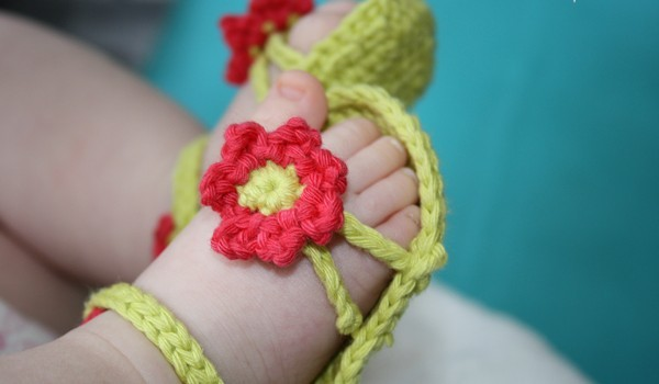 Free Patterns 5 Cute Baby Sandals For Lovely Little Feet Knit And