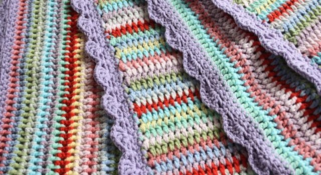 Knit Vertical Stripes Pattern : Free pattern everybody loves making this vintage