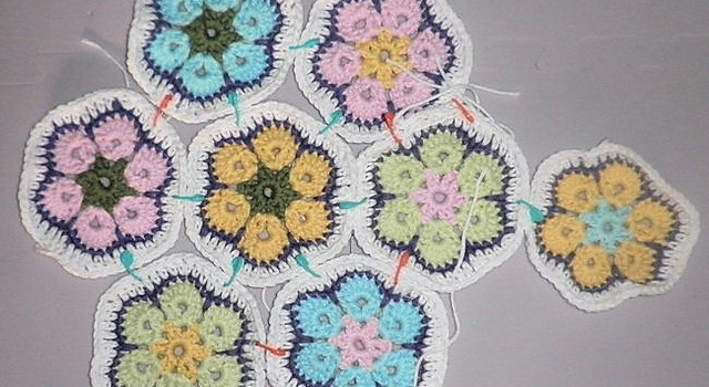 Video Tutorial This Amazing African Flower Motif Can Be Used In A