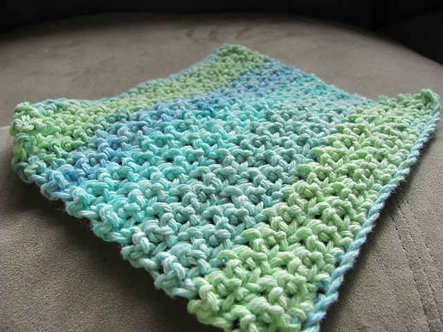 Loose Knitting Patterns : [Free Pattern] This Makes A Loose, Thinner Dishcloth Than Any Other Worsted W...