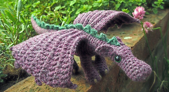 Adorable Fierce Little Dragon Video Tutorial Written Pattern