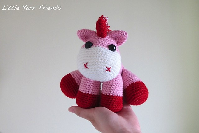 Crochet Baby Unicorn Pattern : [Free Pattern] Lil Cute And Cuddly Baby Unicorn - Knit ...