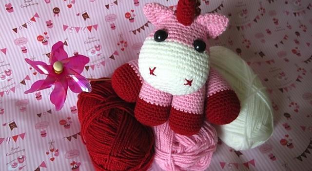 Free Pattern] Lil' Cute And Cuddly Baby Unicorn Knit And Crochet Daily Amazing Unicorn Crochet Pattern