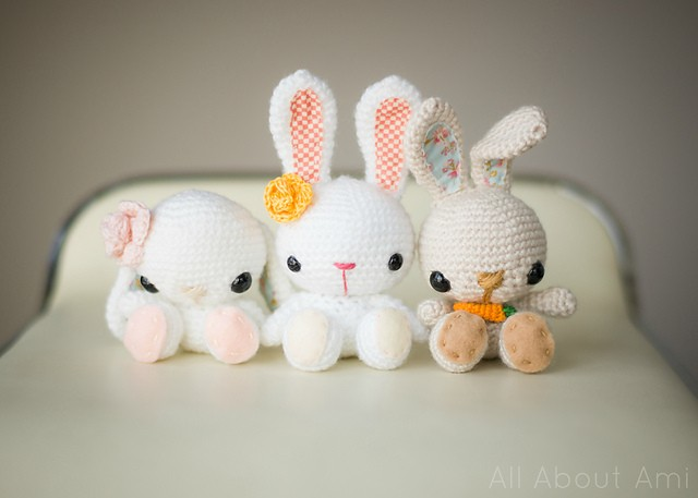 [Free Pattern] These Crochet Bunnies Are Too Cute To Be True!