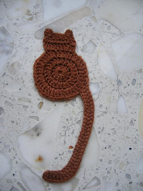Free Pattern Easy And Quick Bookmark Not Only For Cat