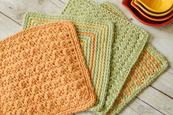 Free Pattern Pretty Up Your Dish Drying Routine With