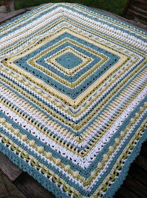 Free Pattern This Faeries Baby Afghan Makes Me Happy
