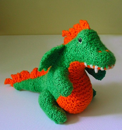 Free Pattern Meet Norberta The Super Cute Baby Dragon Knit And