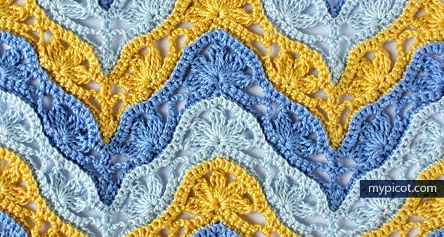 Free Pattern] This Original Pattern Looks Stunning In Different Color ...
