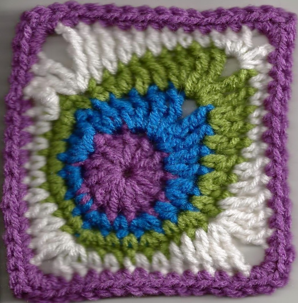 ... Feather Square Will Make A Beautiful Blanket - Knit And Crochet Daily