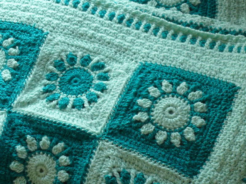 Free Pattern This Sunrise Sunset Afghan Is One Of The
