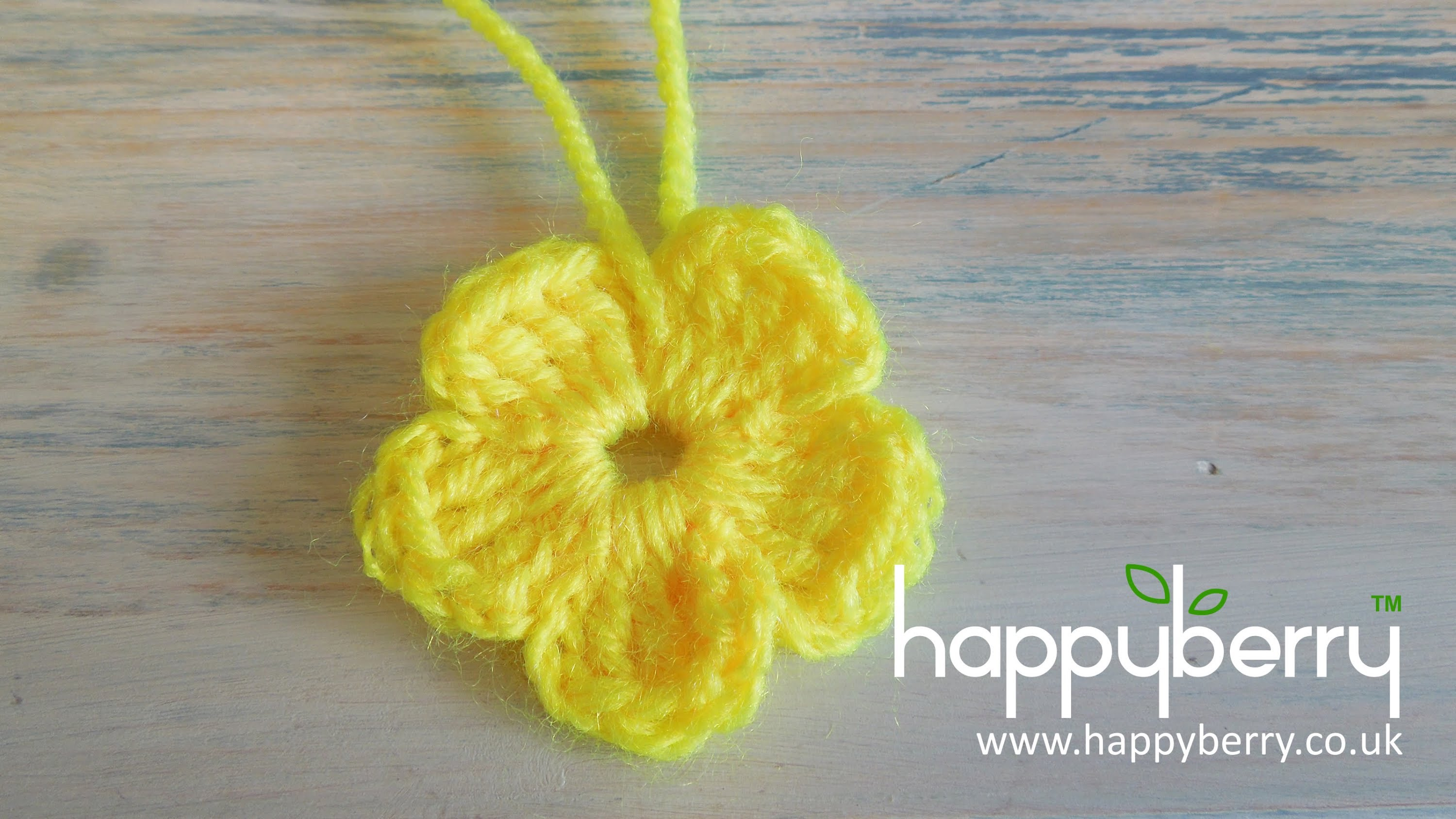 Crochet Daily : ... Something New And Enjoy Crocheting A Flower - Knit And Crochet Daily