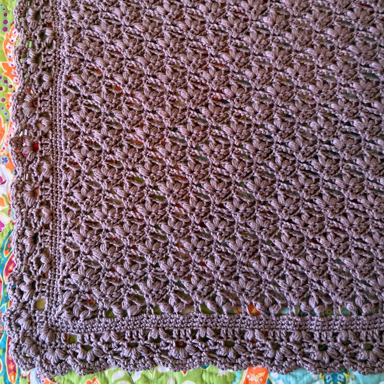Free Pattern This Baby Blossoms Blanket Is Spectacular