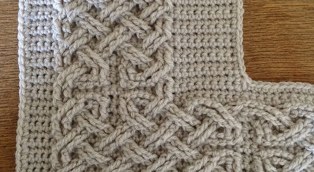 Crochet Daily : ... Pattern] These Large Cables Are Spectacular! - Knit And Crochet Daily