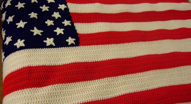 Free Pattern Happy 4th Of July Crochet An American Flag