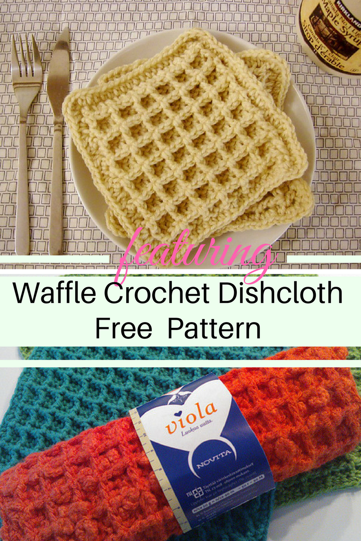 [Free Pattern] Dishcloth Or Waffle? Really Simple Pattern To Have More Fun In The Kitchen