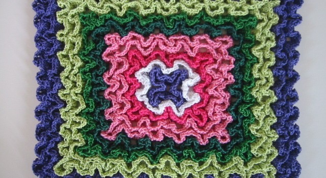 Free Pattern These Hot Pads Are Crocheted In Rug Yarn For Thick