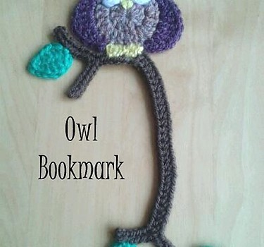Free Pattern Absolutely Adorable Owl Bookmark Knit And Crochet Daily