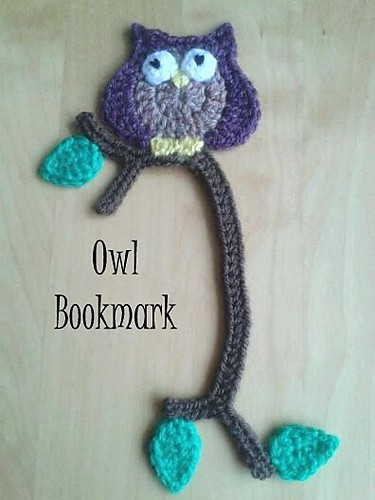 Little Owl Bookmark by Jelly Designs