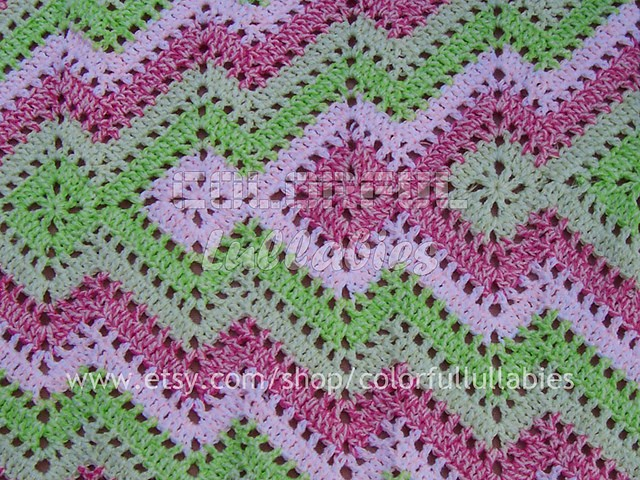 Super Clever Square And Ripple Blanket 2