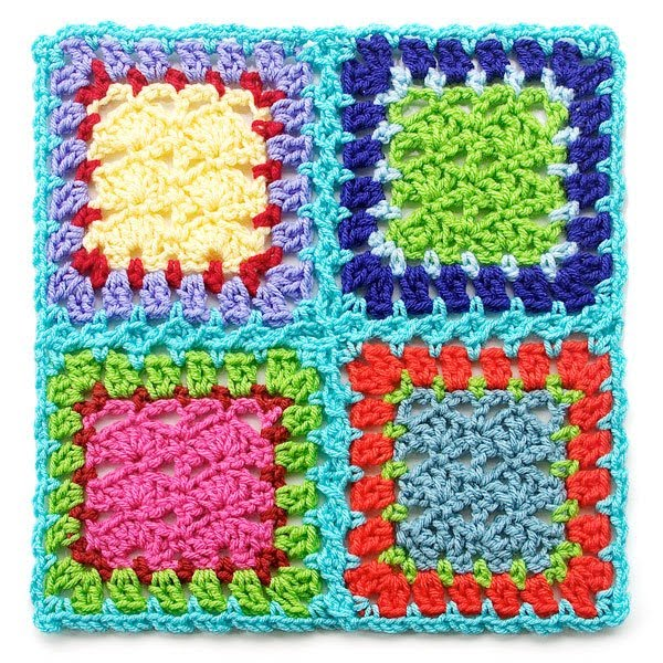 This technique may become your absolute favorite way to join blanket squares!