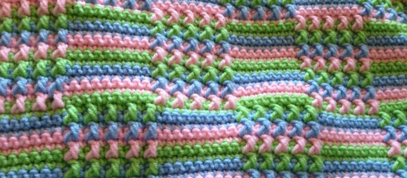 Free Crochet Pattern Websites : Free Pattern) This Blocks Crochet Afghan Is Absolutely Gorgeous!