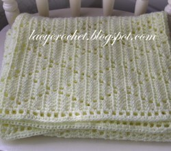 Crochet Baby Blanket Diamond Pattern : free crochet patterns for babies Archives - Knit And ...