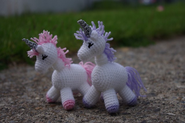 [Free Pattern] Charlie Is A Darling Little Unicorn!