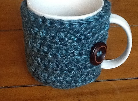 Free Pattern Wonderful Crocheted Mug Cozy Knit And Crochet Daily