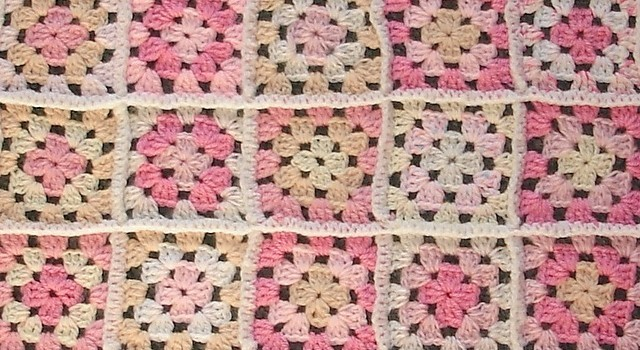 Free Crochet Pattern For Granny Square Baby Blanket : [Free Pattern] Pretty Little Pastel Pink Baby Blanket ...