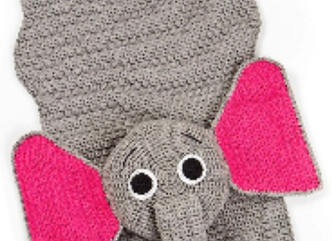 Amigurumi Elephant Pattern : Free pattern] your toddler will love relaxing on this adorable