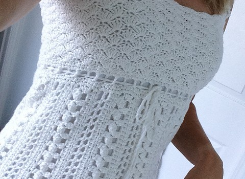 Free Pattern This Lacy Crocheted Sleeveless Top Is Gorgeous Knit