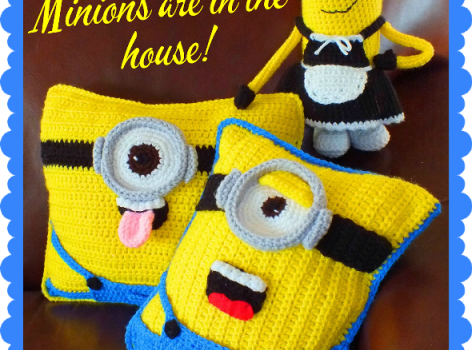 Free Pattern These Minion Inspired Doll Pillows Patterns Are A