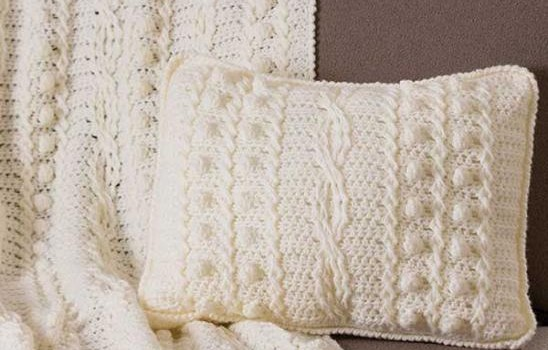 Free Pattern Amazing Afghan And Matching Pillow