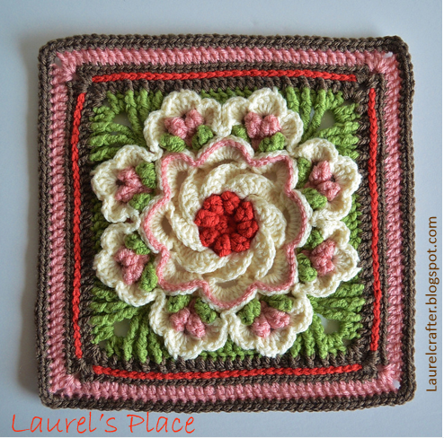 Free Pattern] This Tropical Delight Square Leaves You Speechless ...