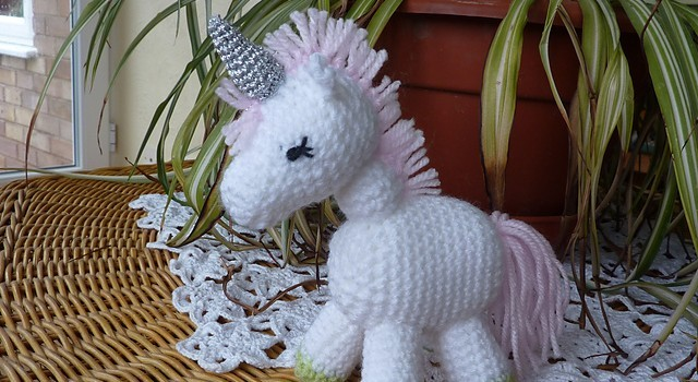 Free Pattern Charlie Is A Darling Little Unicorn Knit And