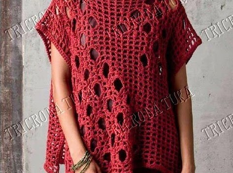 Free Pattern So Simple And Super Wearable Crochet Blouse Knit And