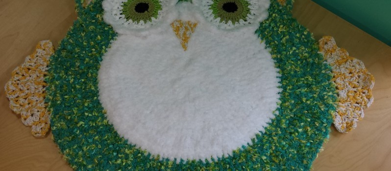 Video Tutorial Adorable Owl Rug For Baby S Room Knit