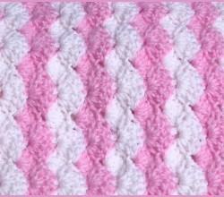 Crocheting Beautiful Lilac Baby Blanket With Flower Pictures to pin on ...