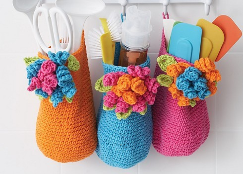 Free Pattern Cute Crochet Basket Container For Easy Organization