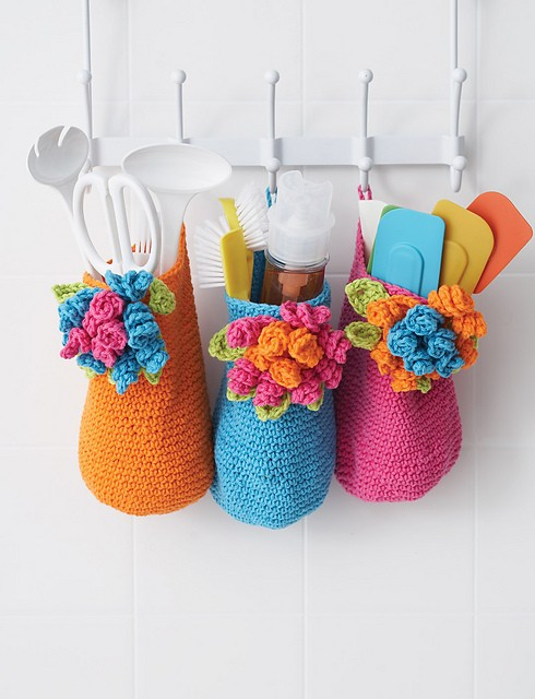 Bouquet Baskets by Lily  Sugar'n Cream